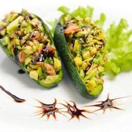 Авокадо с сёмгой Фото