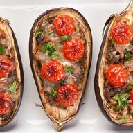 Баклажаны, запечённые с овощами Фото