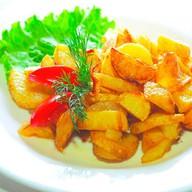 Картофель жаренный по-домашнему Фото