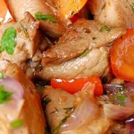 Острое мясо по-турецки Фото