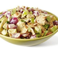Салат из куры с грецким орехом Фото