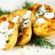 Шашлык из картофеля с курдюком Фото