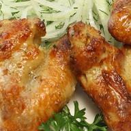 Шашлык из куриных крылышек Фото