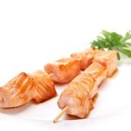 Шашлык из лосося Фото