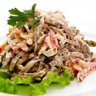 Шеф-салат с языком Фото