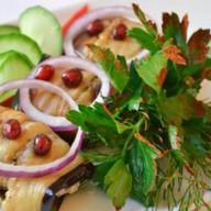 Баклажаны с грецкими орехами Фото