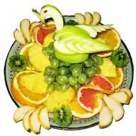Фруктовая тарелка Фото