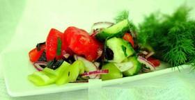 Салат по-кавказски - Фото