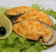 Запеченные мидии (киви) в соусе терияки Фото