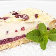Брусничный кремовый пирог Фото