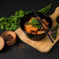Курица гобаоцзы в кисло-сладком соусе Фото