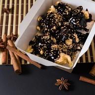 Банановая темпура в шоколаде Фото