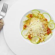Тальятелле с кабачком, сыром монтазио Фото