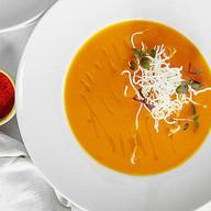 Крем-суп из тыквы на растительном молоке Фото