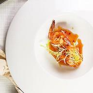 Тигровые креветки в лимонном соусе Фото