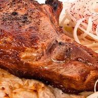 Свиная корейка на мангале Фото
