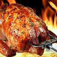 Цыпленок на мангале Фото