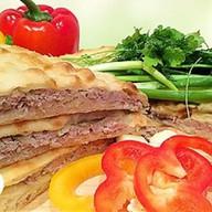 Осетинский пирог с бараниной Фото