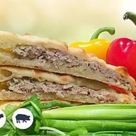 Осетинский пирог с говядиной и св Фото