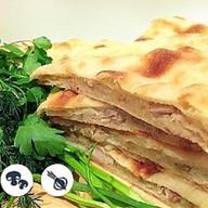 Осетинский пирог с грибами и луко Фото