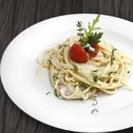 Спагетти карбонара Фото