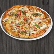 Пицца Карбонара с грибами Фото