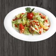 Теплый салат Фото