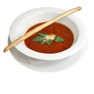Томатный суп-пюре из помидоров пелати Фото