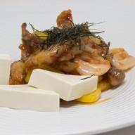 Куриное филе, обжаренное в соусе чили Фото