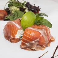 Закуска из лосося Фото