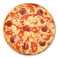 Колбасная ассорти пицца (халяль) Фото