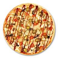 Барбекю пицца (халяль) Фото