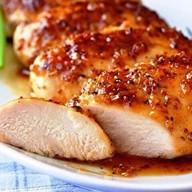 Куриная грудка в горчично-медовом соусе Фото