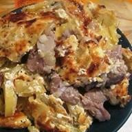 Свинина отбивная с картофелем Фото