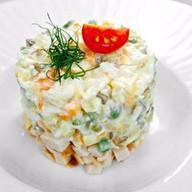 Столичный салат Фото