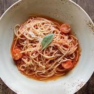 Спагетти помодоро Фото