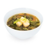Мисо-суп с морским гребешком Фото