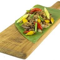 Жареный рис с овощами в фирменном соусе Фото