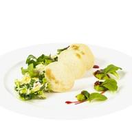 Легкий салат с камчатским крабом Фото
