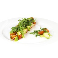 Салат с руколой - добавляйте топпинги Фото