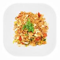 Рис с курицей и овощами Фото