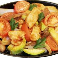 Сковордка с овощами Фото