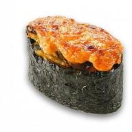 Запечённые суши угорь Фото