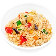 Рис с овощами Фото