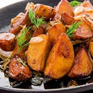 Сковородка с картофелем по-домашнему Фото