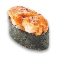Запечённые суши морской окунь Фото