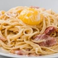 Спагетти с соусом Карбонара Фото