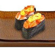 Острые суши эби Фото