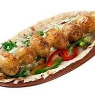 Шашлык из картофеля Фото