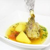 Мясной суп из баранины Фото